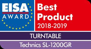 EISA-Award-Logo-Technics-SL-1200GR