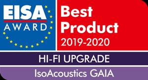 EISA-Award-IsoAcoustics-GAIA