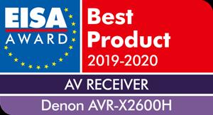 EISA-Award-Denon-AVR-X2600H